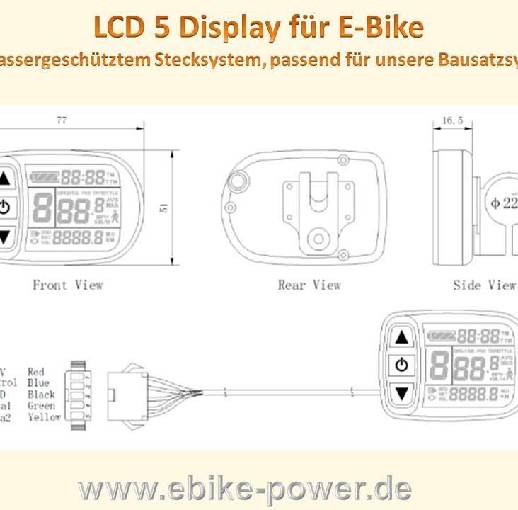 lcd-5-display-fuer-bausaetze-mit-wassergeschuetztem-steckersystem-passend-fuer-unsere-bausaetze--variante-betriebsspannung-48v-60v-70v-2